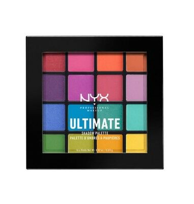 "NYX ULTIMATE SHADOW PALETTE - BRIGHTS (USP04) ""US Seller"" + FREE SHIPPING"
