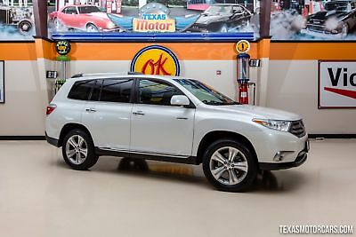 2013 Toyota Highlander Limited 2013 White Limited!