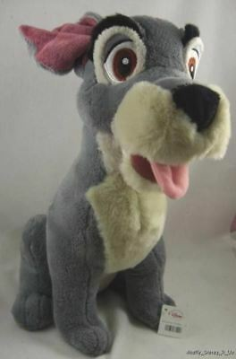 """New Disney Store Exclusive LADY and the Tramp 12"""" Plush Doll Toy Stuffed Animal"""