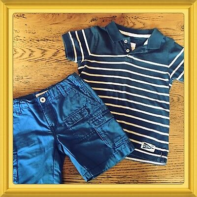 Boys Country Road Shorts And Top. Excellent Condition Size 4-5