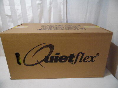 "Quiteflex R4.2 8""X25' Insulated Flexible Black Duct Heating & HVAC Vent Duct"