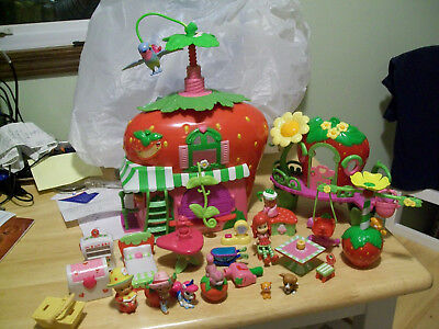 REPLACEMENT ITEMS Strawberry Shortcake ,HOUSE, DOLL AND MORE