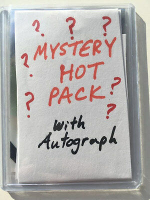 BASEBALL MYSTERY AUTOGRAPH HOT PACK: 1 MLB Player Auto Card on a Current Roster