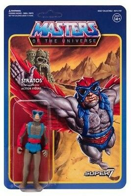 Super7 - ReAction - Masters of the Univese Wave 3 ReAction Figure - Stratos