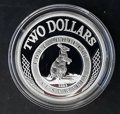 "2003 Australia ""Port Phillip Patterns""  18.22g Silver (99.9%) $2 coin"
