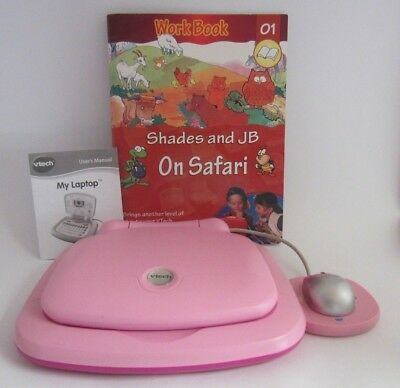 """VTech Pink Childrens' Toy """"My Laptop"""" with Mouse - PICK UP ONLY Wantirna South"""