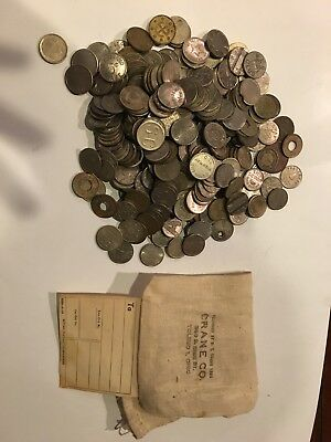 Lsrge Lot Of Assorted Tokens
