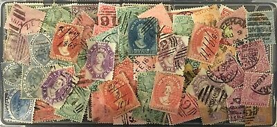 Australian States - mixed selection of Tasmania State stamps - Used