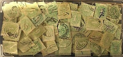 Australian - Selection of Postage Due stamps Early 1900's - Used - Values to 1/-