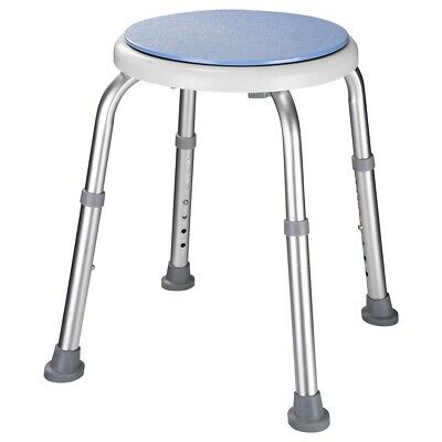 """14"""" Medical Bath Stool Safety Shower Swivel Chair with Rotating Seat Adjustable"""