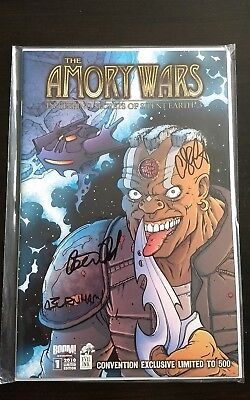Rare signed Amory Wars iksse3 #1 from comic con