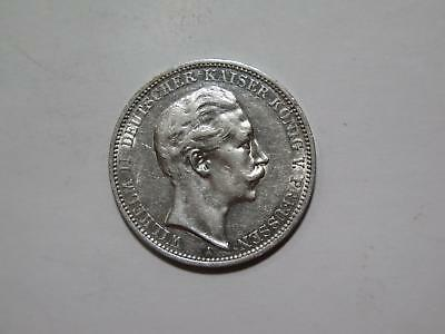 Germany Prussia 1912 A 3 Drei Mark Silver Type Old World Coin Collection Lot
