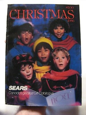 1986 Sears Christmas Catalog - Toys, Lego, GI Joe, Barbie, Wrestling +++! Canada