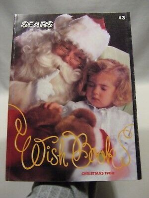 1988 Sears Christmas Wish Book Catalog - Toys, Lego, GI Joe, Barbie +++!! Canada