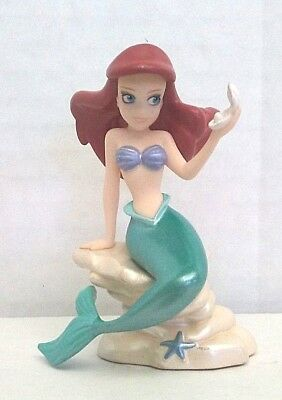 Disney Little Mermaid PVC Figure Cake Topper Used