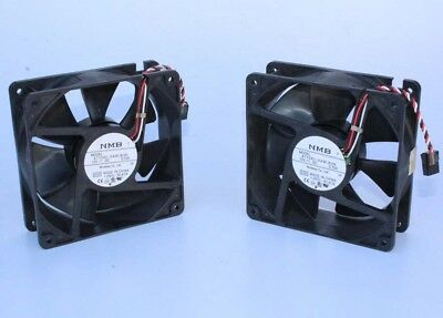 NEW Lot 2 NMB 4715KL-04W-B39 DC Axial Cooling Fan 3-Wire 12V 0.72A, 120X120X38mm