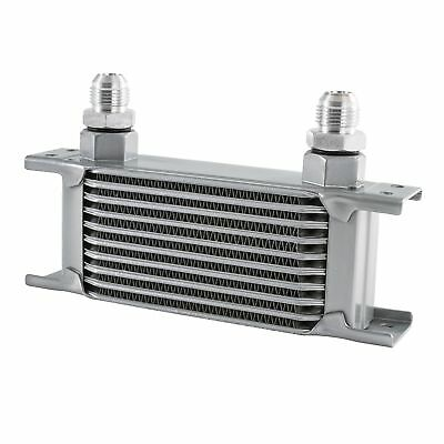 JJC Oil Cooler M22, 115mm Matrix Width, 7 Row High, -8 JIC Male Fittings