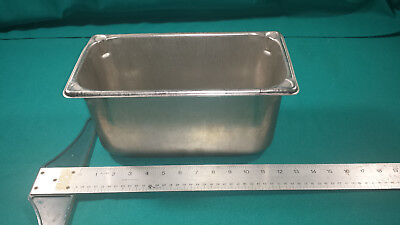 "Lot of 6 Vollrath Steam Table Super Pan II 1/3 Size 6"" Deep 18-8 stainless steel"