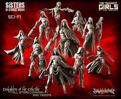 TGG2 Raging Heroes ~ Daughters of the Crucible -  All 10 Command&Troops As New