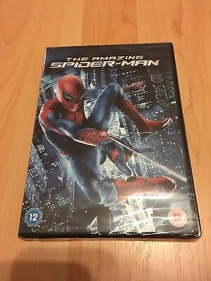 Marvel The Amazing Spider-Man DVD - New & sealed Andrew Garfield /Emma Stone