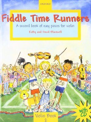 Fiddle Time Runners with CD: A second book of... by Blackwell, David Sheet music