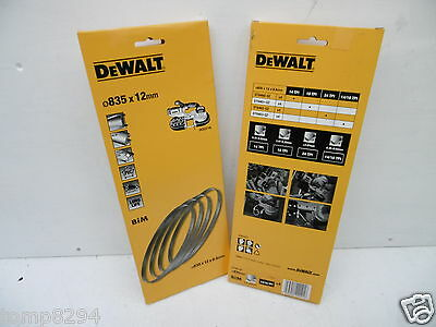 Pack Of 4 Dewalt Dt8462 Bandsaw Blades 24Tpi For Use With Dcs371 18V Xr Bandsaw