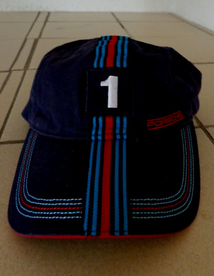 "ORIG. Porsche MARTINI RACING  Baseball Cap "" 1 ""   Drivers Selection"