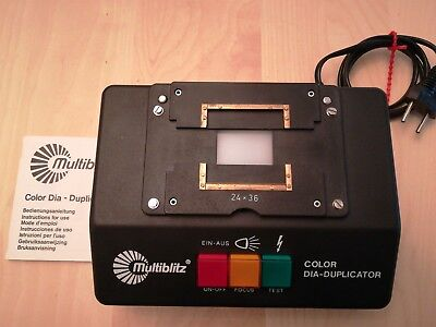 Multiblitz Color Dia-Duplikator