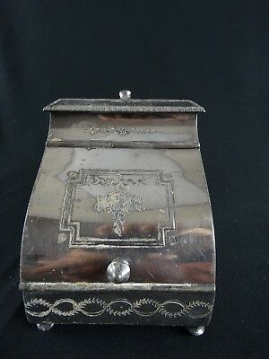 Fine Antique 19thC JAMES DIXON & SONS EPBM Sugar Hod England Silver plate