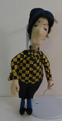 The Golfer - 00Ak - Plush Doll Caricature / Character - A Delight
