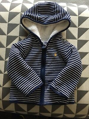 Joules 9-12 Months Baby Boy Fleece Lined Jacket
