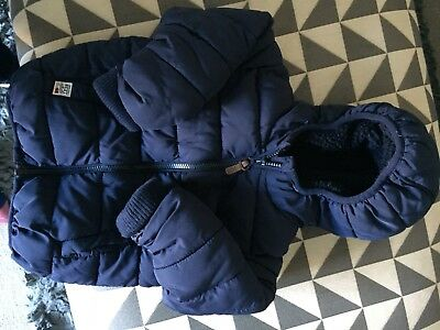 Boys next jacket/coat -  - Size 12-18 months