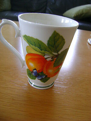 Roy Kirkham Botanica Mug    1996    With Plum's And Butterfly's