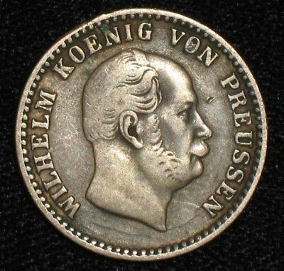 1863-A, 2-1/2 Silber Groschen from Prussia, Germany.  No Reserve!