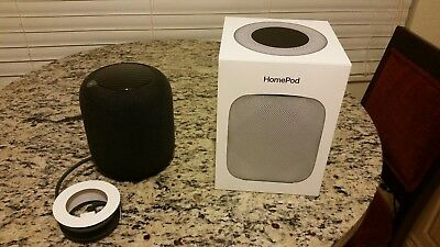 Apple HomePod Space Gray Digital Media Streamer