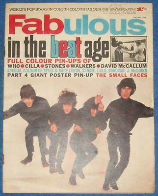 VERY RARE FABULOUS MAGAZINE 1966 read all details please.