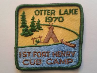1970 1st Fort Henery Otter Lake Cub Camp Kingston Ontario Patch