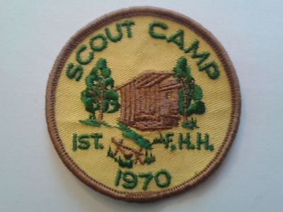 1970 Scout Camp 1St Fort Henery Heights Kingston Ontario Patch
