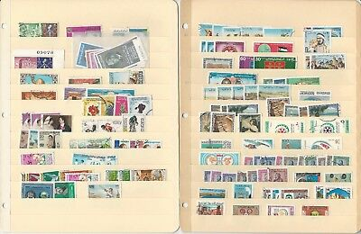 Jordan Collection on 15 Stock Pages, Loaded With Interesting Stamps