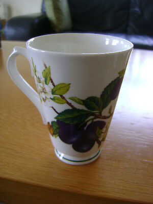 Roy Kirkham Botanica Mug    1996    With  Damsons  And Butterfly's