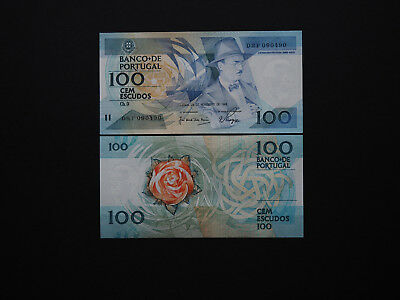 Portugal Banknotes 100 Escudos Superb  1988  Issue   -   Great Images   MINT UNC