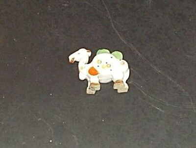 REALLY CUTE! ART DECO~HAND PAINTED mini CAMEL as a POSY~TOOTHBRUSH~FLOWER HOLDER