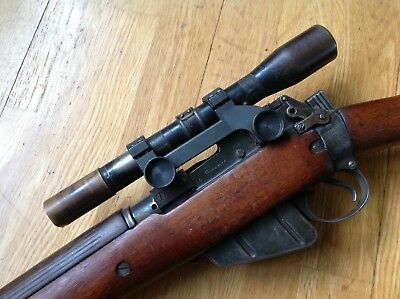 ORIGINAL WW2 No 53 MK1 TELESCOPIC SIGHT, IDEAL SNIPER LEE ENFIELD DISPLAY SCOPE
