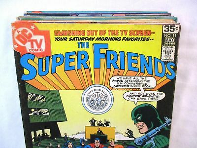 Lot Of 16 SUPER FRIENDS Comics #11-36 DC Bronze Age Justice League Superfriends