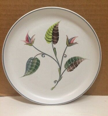 """RARE Denby SPRING Stoneware 6 5/8"""" Bread & Butter Plate Signed Albert College"""