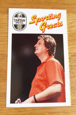 Scarce Younger's Sporting Greats Card Eric Bristow Darts 1989