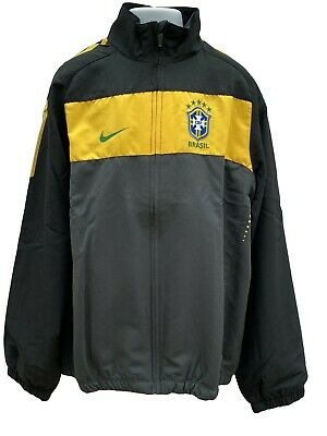 NIKE Boys Girls  BRAZIL BRASIL Football Complete Tracksuit Large Age 12-13 Years