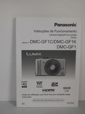 Panasonic Lumix DMC-GF1 GF1 Manual Portuguese