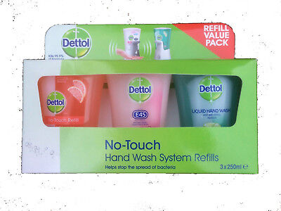 Dettol No-Touch Hand Wash System Refills 3 x 250ml