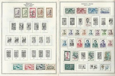 Morocco Collection 1956-1998 on 30 Minkus Global Pages